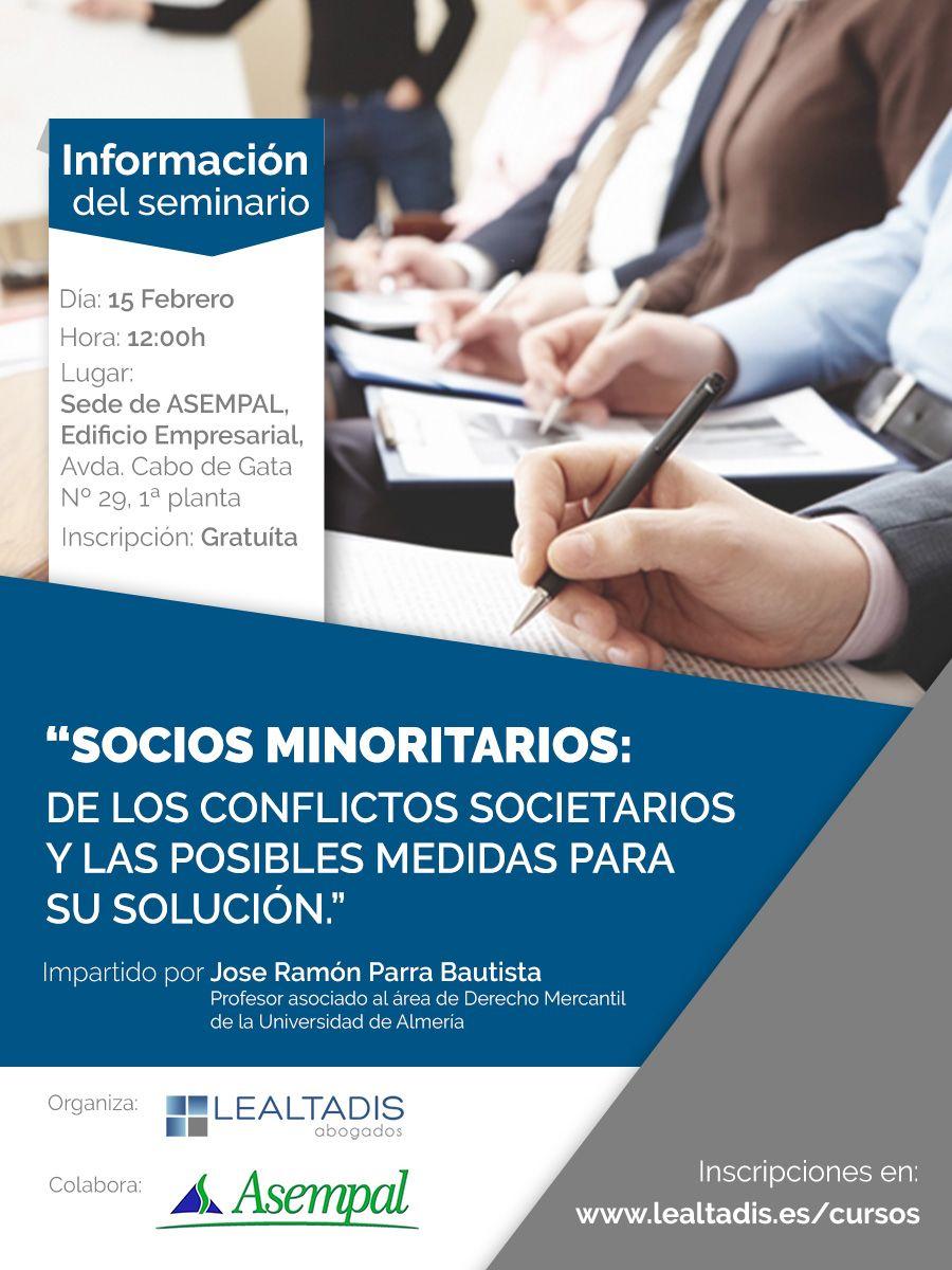 Seminario Socios Minoritarios
