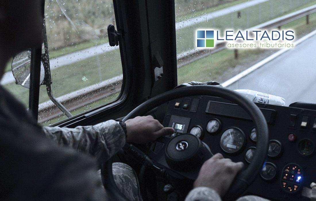 Horas de presencia en el sector del transporte de mercancía por carretera